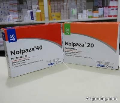 مصرف داروی نولپازا