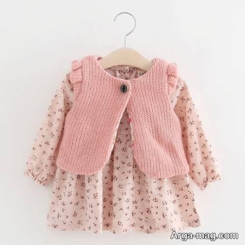 مدل پیراهن نوزادی