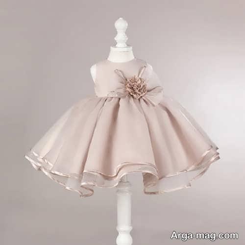 مدل لباس مجلسی نوزادی