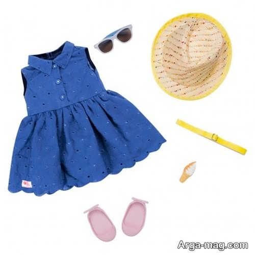 مدل لباس نوزادی دخترانه ساده