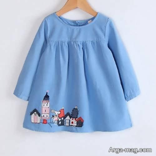 مدل لباس ساده نوزادی
