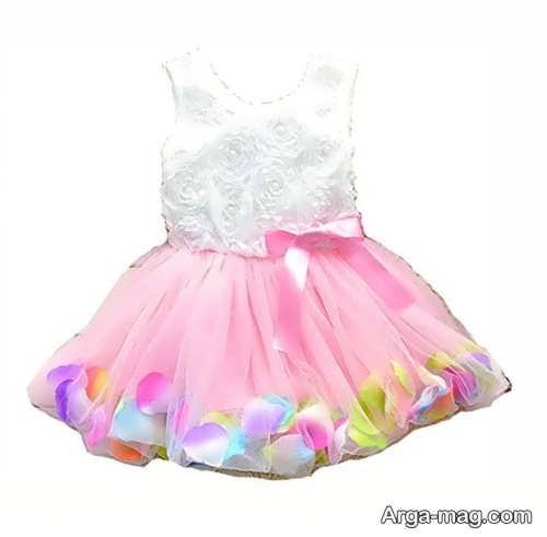 لباس نوزادی مجلسی