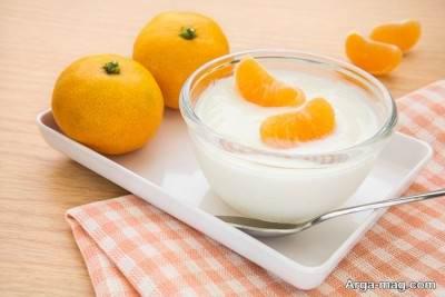 ماسک پودر پرتقال