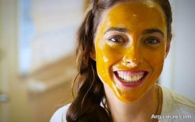 روش تهیه ماسک طبیعی پرتقالی