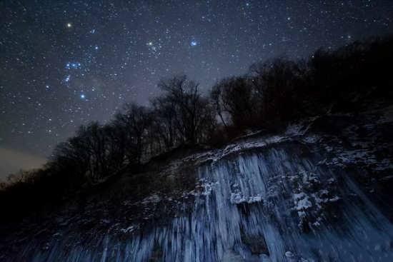 عکس زیبا و دیدنی طبیعت شب