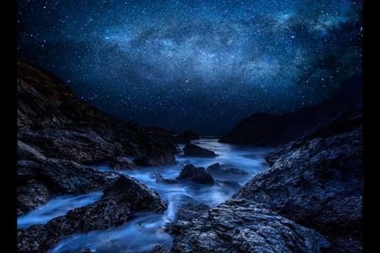 عکس جذاب طبیعت شب
