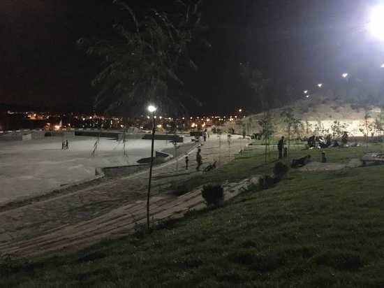 تصویر زیبای طبیعت شب