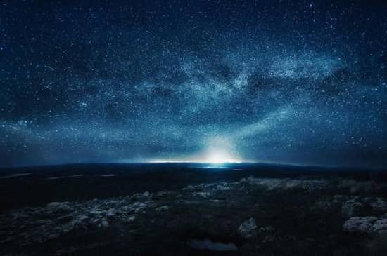 عکس آسمان شب