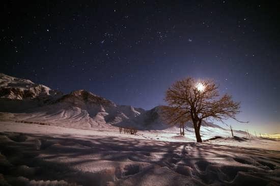 عکس از زیبایی شب