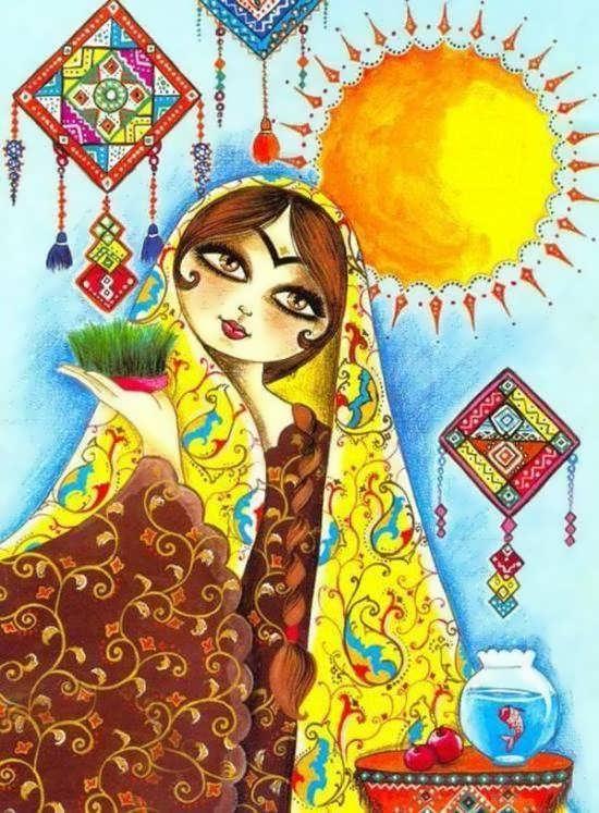 عکس عید نوروز 98 برای پروفایل
