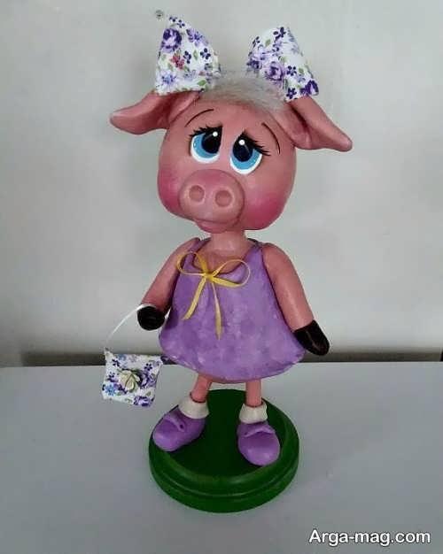 عروسک زیبا و فانتزی خوک