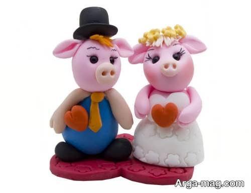 عروسک فانتزی و زیبا خوک