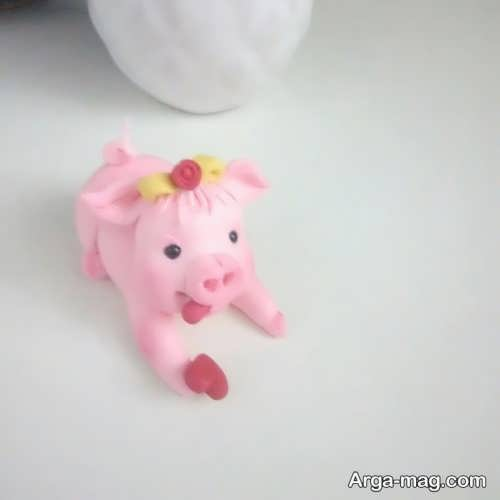 عروسک زیبا خوک