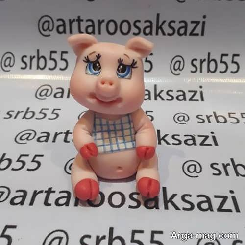 عروسک فانتزی شیک و زیبا خوک
