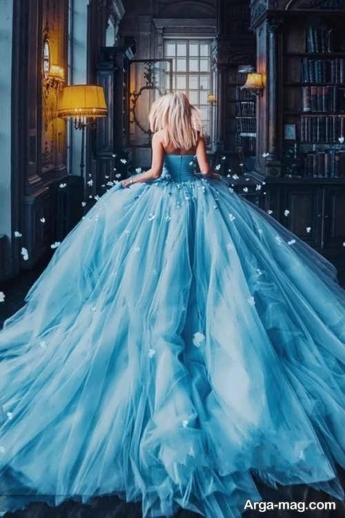 جدیدترین مدل لباس عروس پفی