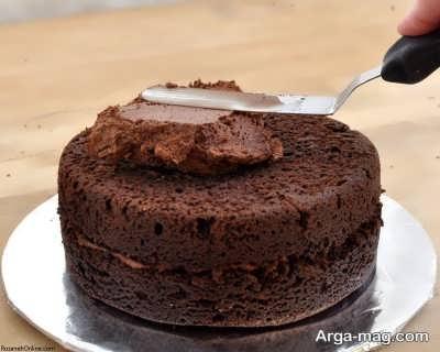 طرز تهیه کیک موکا