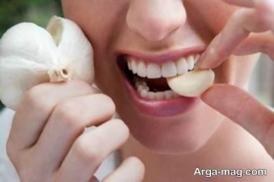 استفاده از سیر برای تسکین درد دندان عقل