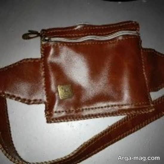 کیف کمری چرمی