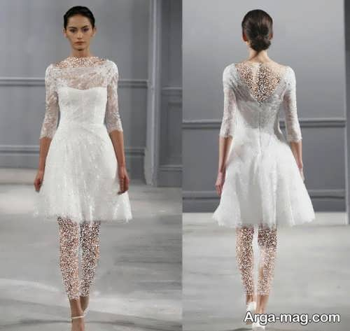 مدل لباس عروس زیبا و خاص