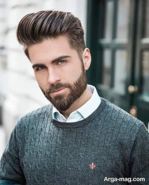 مدل ریش زیبا و کوتاه مردانه