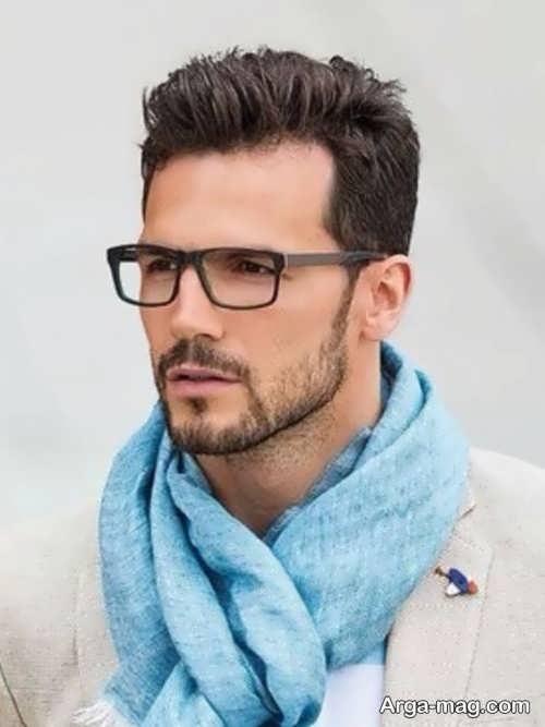 مدل ریش کم پشت مردانه