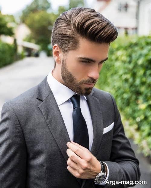 مدل ریش کوتاه و جذاب