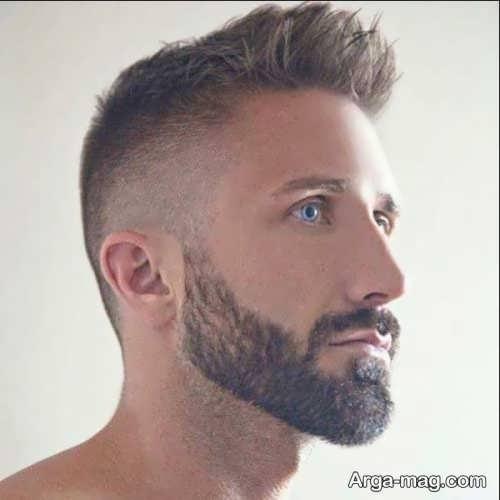 ریش مردانه زیبا و کوتاه