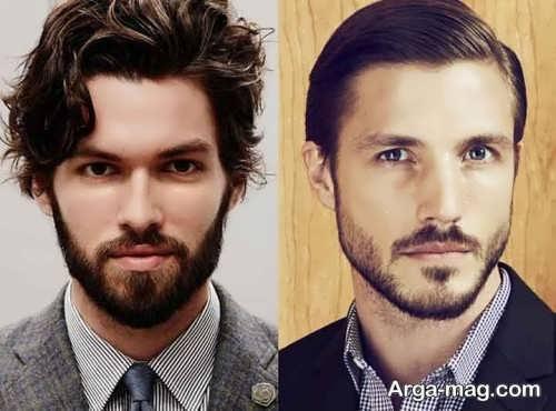 ریش مردانه زیبا و شیک