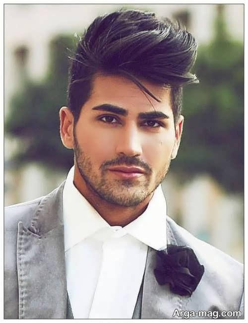 ریش کم پشت و کوتاه مردانه