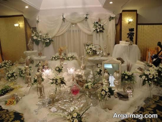 تزیین سفره عروسی