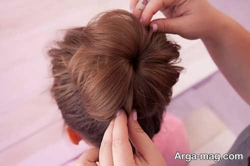 آموزش مدل موی شیک گوجه ای