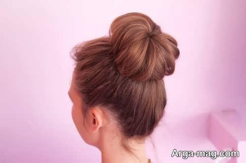 مدل موی ساده و بی نظیر گوجه ای