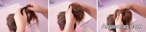 مدل موی شیک گوجه ای