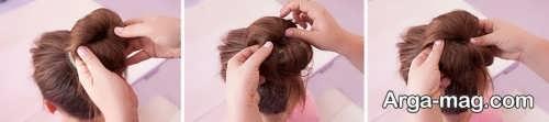 مدل آرایش موی شیک گوجه ای