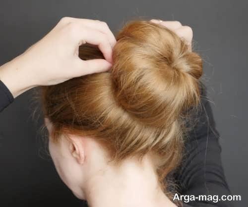 مدل آرایش موی گوجه ای