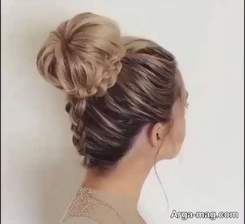 مدل موی زیبا و خاص گوجه ای