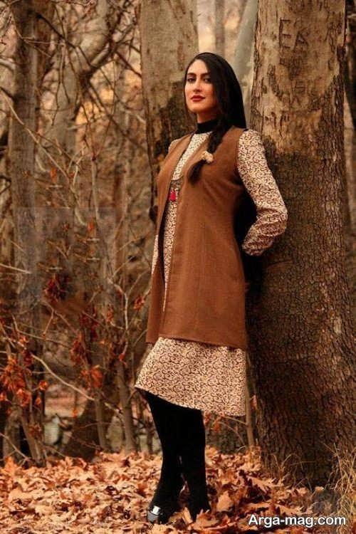 مدل لباس سنتی طرح دار و شیک