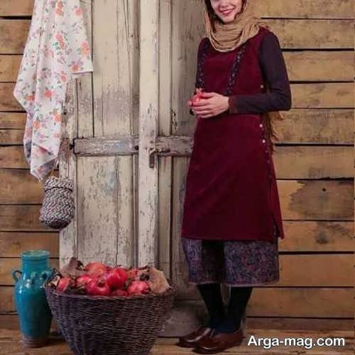 مدل های لباس سنتی زیبا و طرح دار