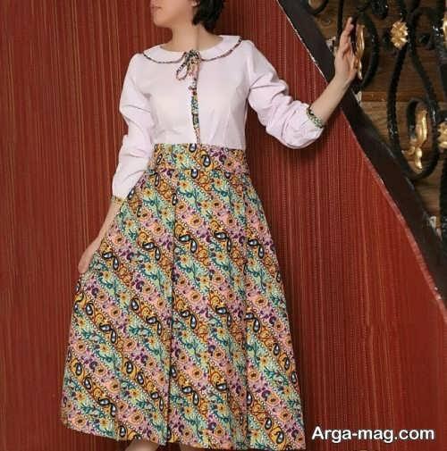 لباس طرح دار سنتی