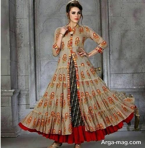 مدل لباس سنتی دخترانه زیبا و شیک