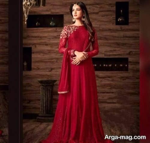 مدل لباس سنتی ساده