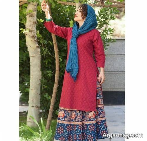 مدل لباس دخترانه سنتی