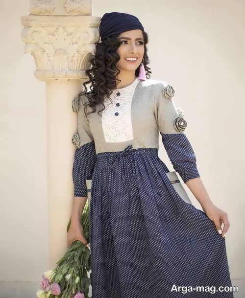 مدل لباس سنتی دخترانه