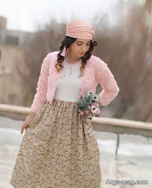 مدل لباس طرح دار سنتی