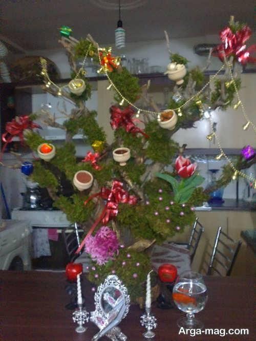 مدل هفت سین درختی