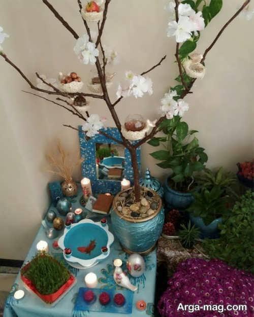 سفره هفت سین درختی