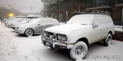 گرم کردن خودرو در فصل زمستان