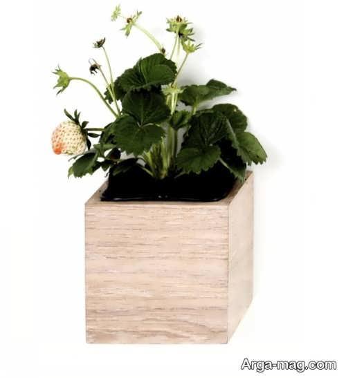 مدل های گلدان چوبی