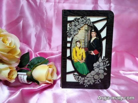 کارت عروسی متفاوت چوبی