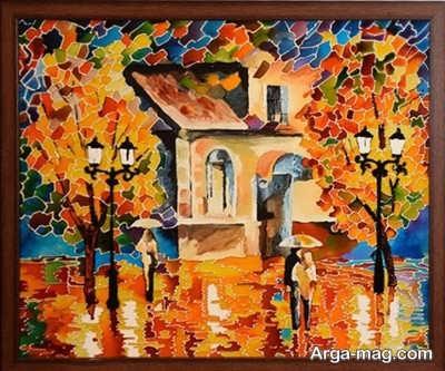 کشیدن نقاشی در منزل
